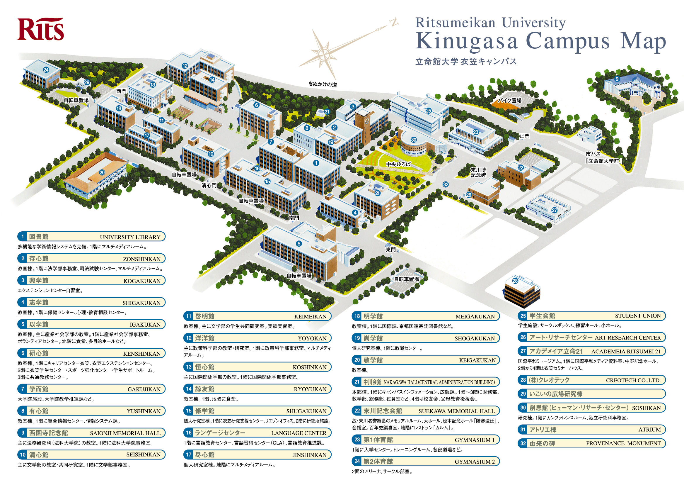 Temple University Campus Map