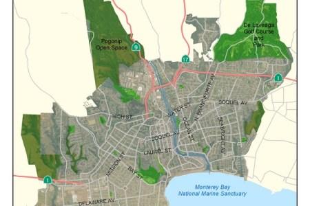 map santa cruz california » Free Wallpaper for MAPS | Full Maps