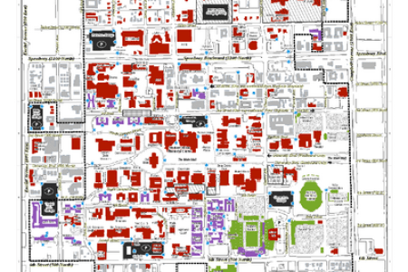Full Image Wallpapers » map of usc campus   HD Images