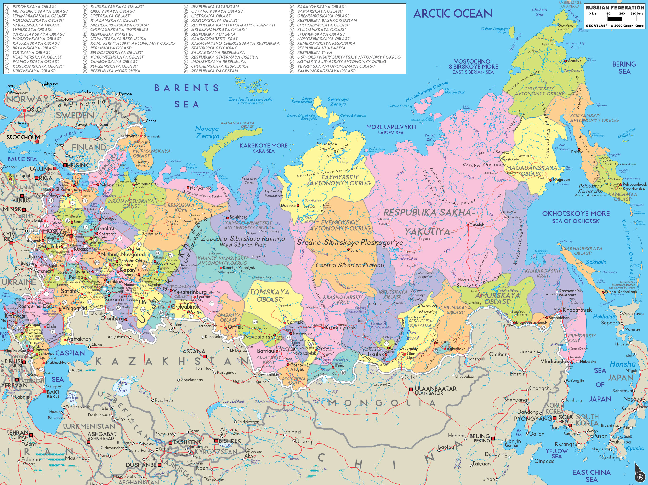 Ppi Maps Of Countries Russia