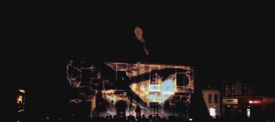 3D mapping на фасад Музея им. Станислава Фишера