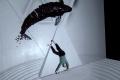 Танец с 3D mapping вопреки законам физики