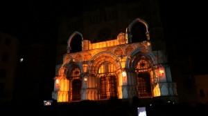 Прекрасный видеомэппинг на испанский Кафедральный Собор