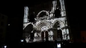 Архитектурный 3D mapping на фасаде испанского Кафедрального Собора
