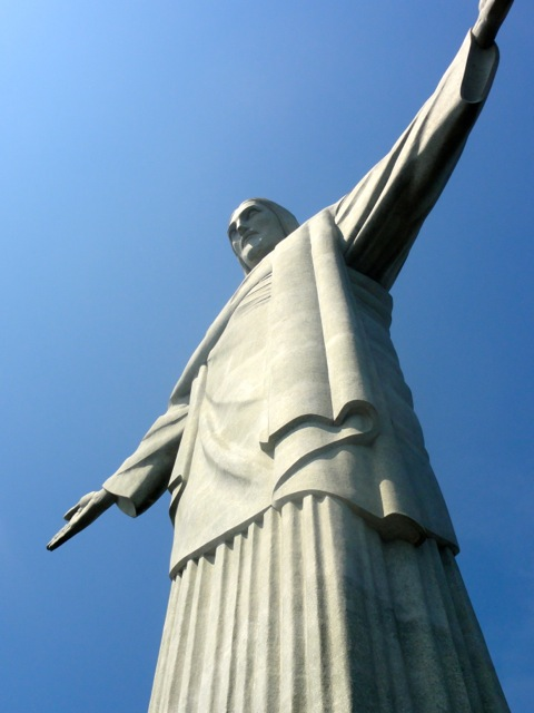 Christ the Redeemer in Rio de Janeiro – This is the 5th largest Jesus statue in the world.