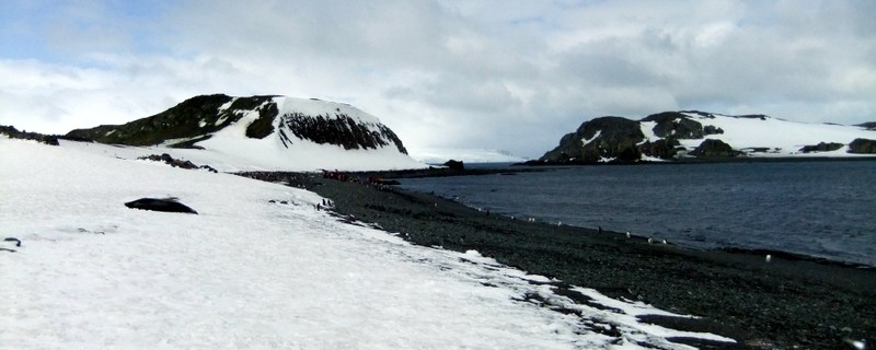 Arrival in Barrientos: Antarctica
