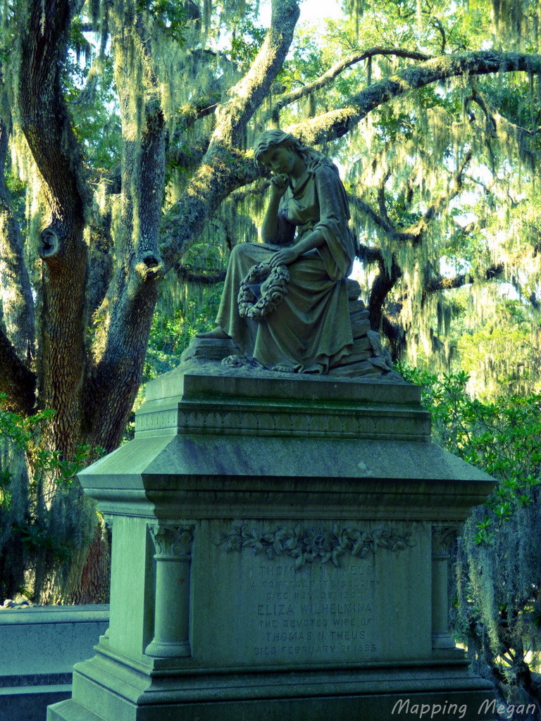 Bonaventure Cemetery Savannah Mapping Megan
