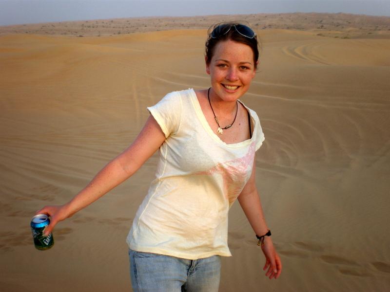 Traveling alone in Dubai.