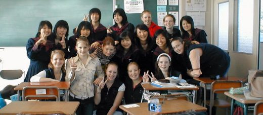 Traveling to Japan in 2003 as a Year 9 Student. Many language difficulties were overcome!