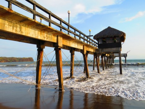 Pier at the Doubletree Resort Costa Rica.