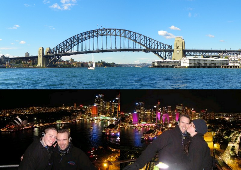 Sydney Harbor Bridge Climb.