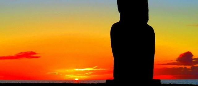 Photo: A Stunning Easter Island Sunset