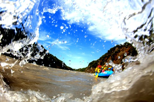 White Water Rafting Iceland. Arctic Adventures.