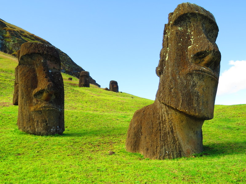 Rano Raraku. An iconic Easter Island postcard.