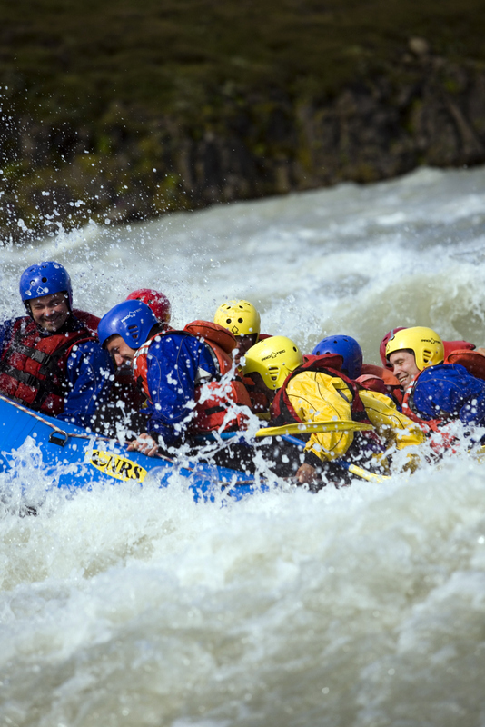 White Water Rafting Iceland.
