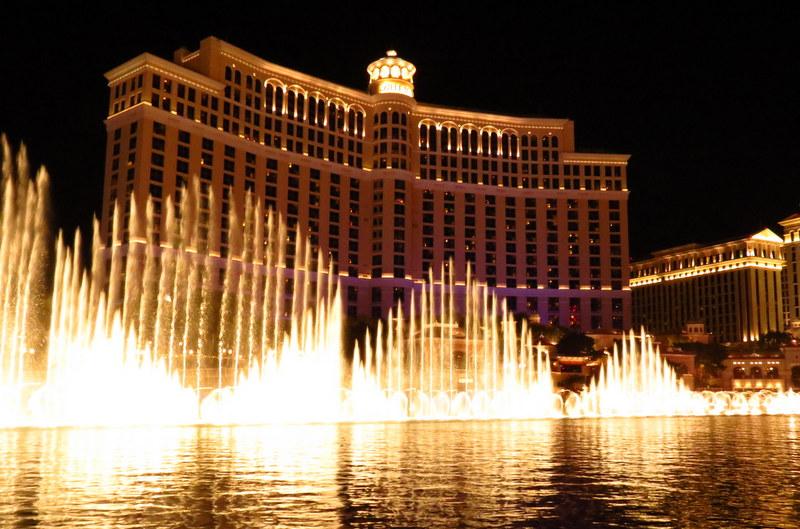Fountains of Bellagio.