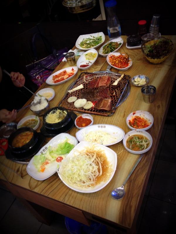gimbap, Korean food.
