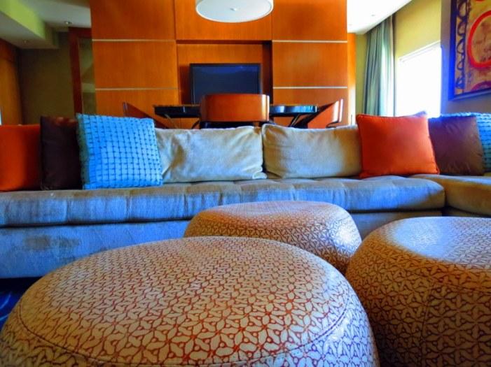 Comfortable lounge area.