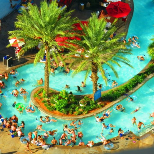 Lazy River at the Monte Carlo Pool.