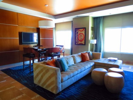 Our lounge area - Hotel 32.