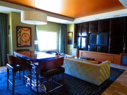 Our lounge and dining area.