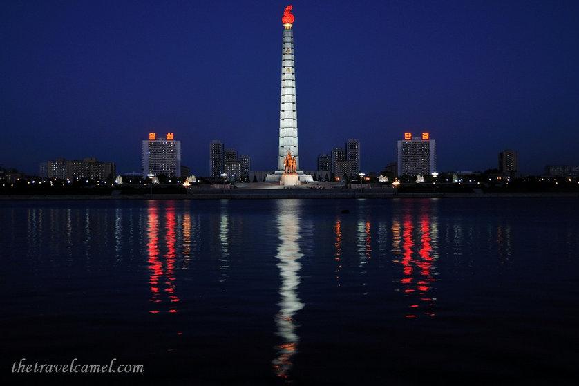 Juche Tower - North Korea.