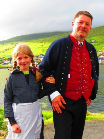 The Faroe Islanders are a peaceful and friendly people.