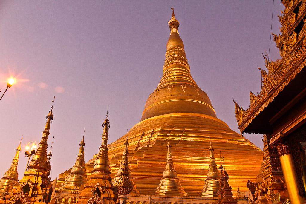 shwedagon, Myanmar