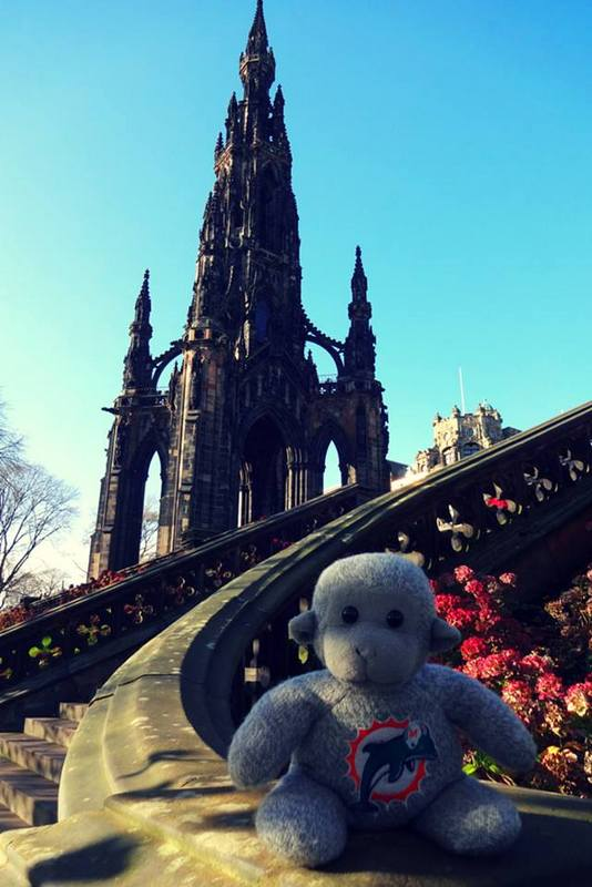 Monkey in Edinburgh