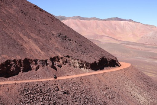 Bike through the Andes