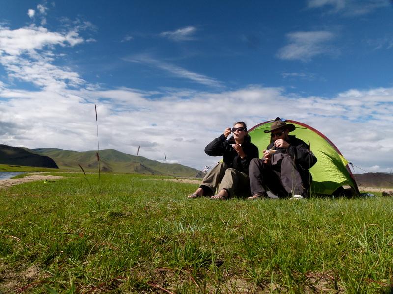 Trekking across Mongolia