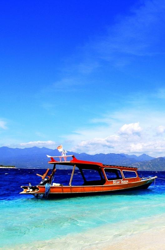 Gili Island in Indonesia