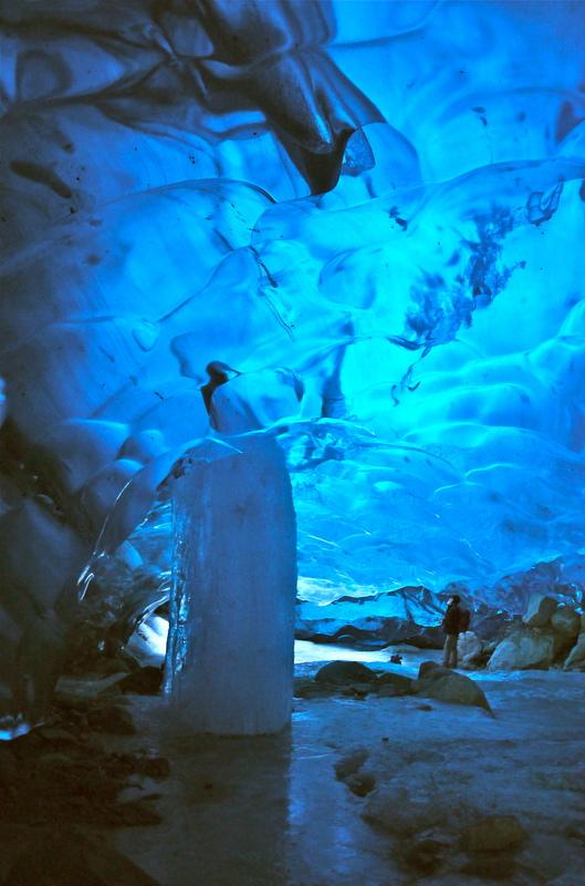 Mendenhall Glacier Caves, Alaska.