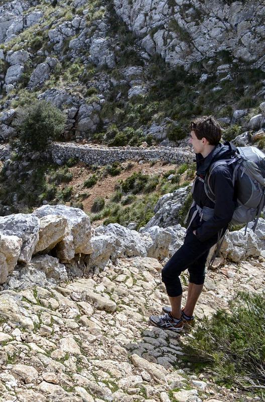 The Tramuntana mountain range. Spain.