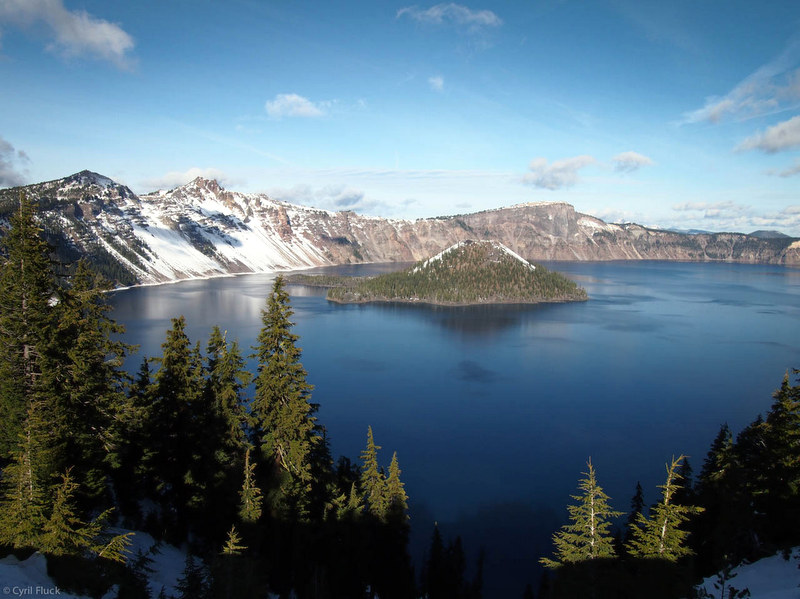 Crater Lake, Oregon. Photo CC by Cyril Fluck.