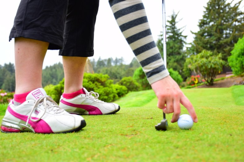 Mini Golf at Salishan Spa & Golf Resort