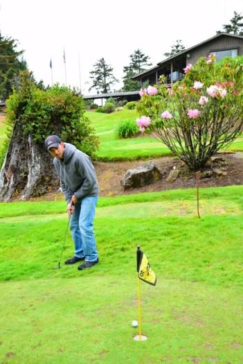 Mini Golf at Salishan Spa & Golf Resort