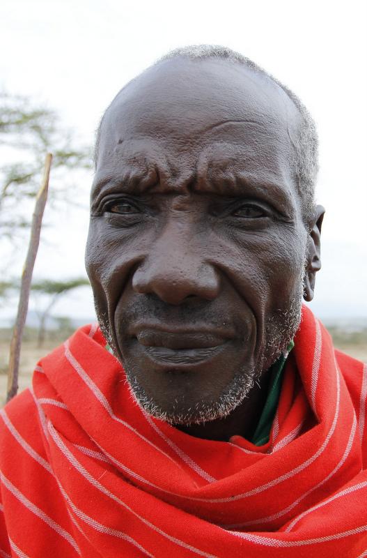 Samburu County, Kenya. The remnants of the ethnic fighting still lingering on everyone's minds.