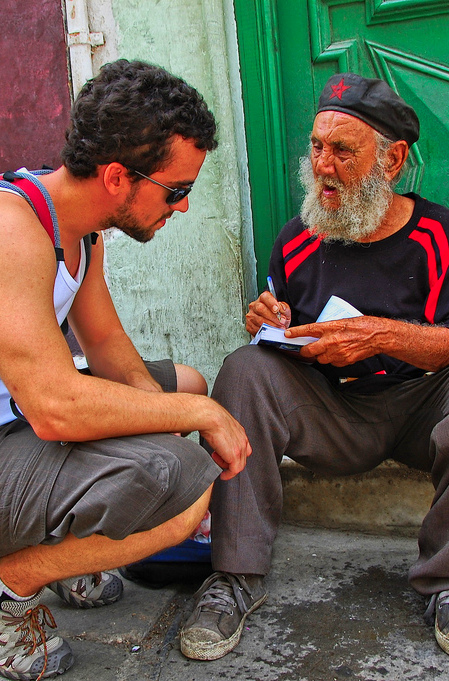 Interacting with locals