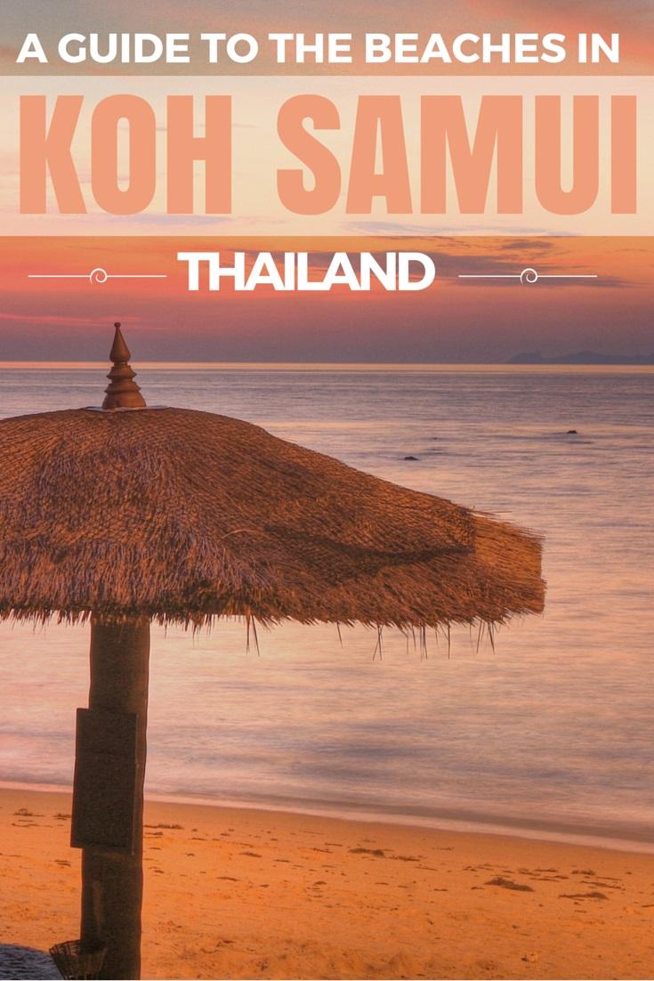 The best beaches in Koh Samui Thailand