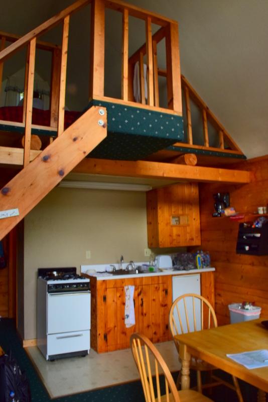 Secluded cabin retreat Alaska