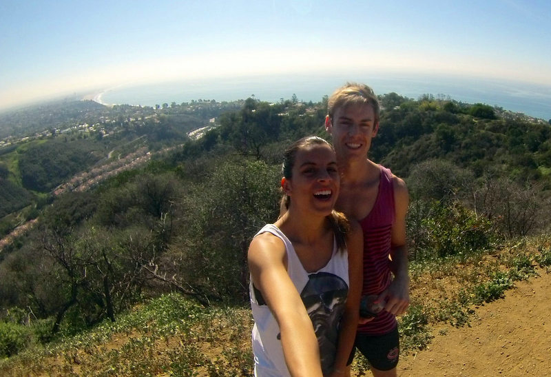 Hiking in Malibu
