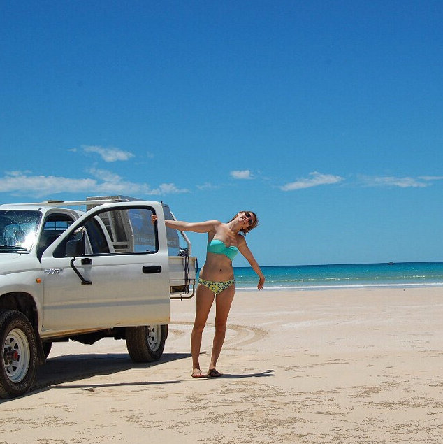4WD-ing on Broome beaches