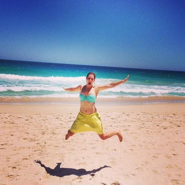 Australia beach.