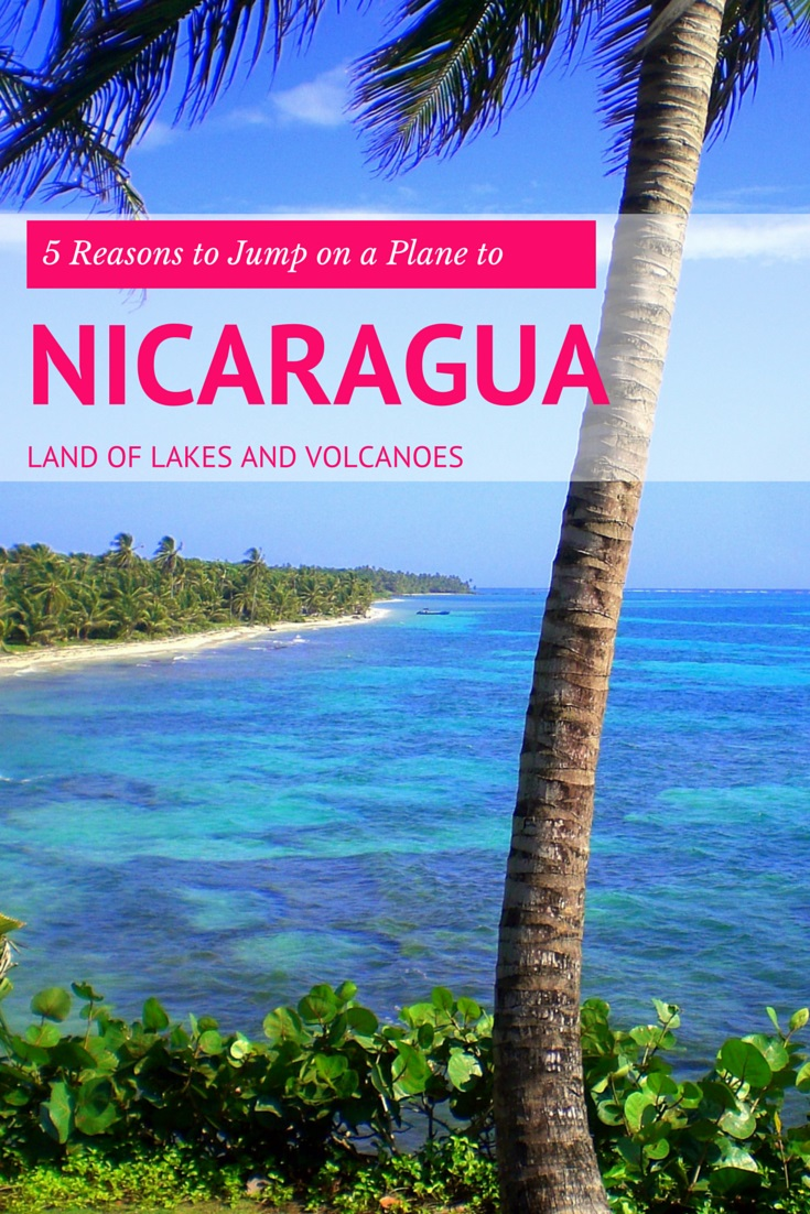 Land of Lakes and Volcanoes' indeed, you've also got the option of colonial churches and museums, cloud forests, tumbling waterfalls, and incredible coffee. Here are 5 reasons to jump on a flight to Nicaragua today.
