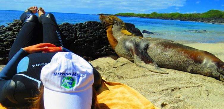 Galapagos Island beach