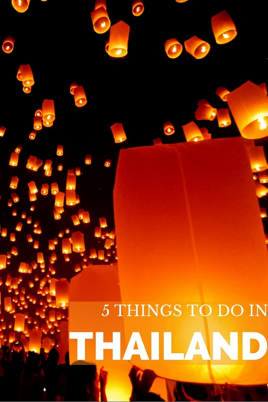 Best things to do in Thailand