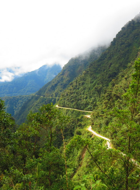 Death Road, Bolivia.