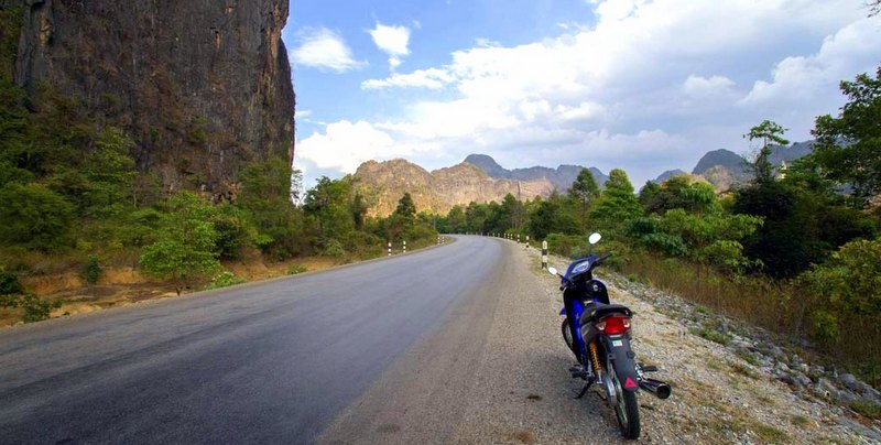 We fell in love with country for it's adventure during a motorbike expedition through the windy, mountainous roads to Konglor Cave.