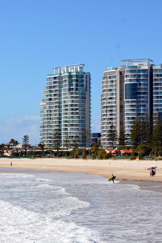 Coolangatta Beach Gold Coast Australia